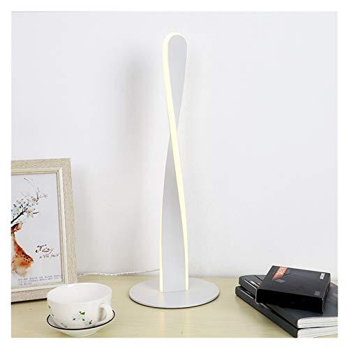 HAIBOMY Lámpara de Escritorio Nordic Modern LED Lámparas de Escritorio Simple Decoración de Internet Dormitorio Luz de Lectura Lámpara Dormitorio Dormitorio Estudio Creatividad Luces Lackstures