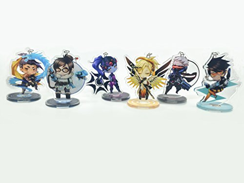 GALIGEIGEI Overwatch Acrylic desk decoration, Figure (Keychain) Photo #2