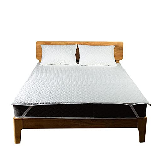 CYYyang Funda de colchón Anti chinches, Transpirable, Funda Protectora de colchón Impermeable Color puro-200x200cm