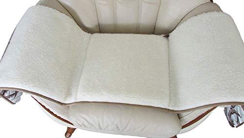 Coussin de fauteuil en laine mérinos 45 x 150 cm