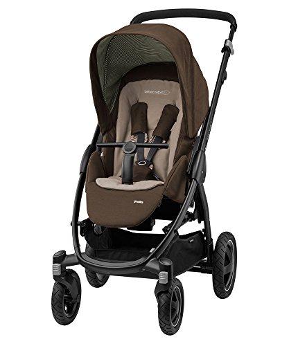 Bébé Confort Stella, Poussette Tout-Terrain, Maniable et Pratique, de la Naissance à 3,5 ans (0-15kg), Earth Brown