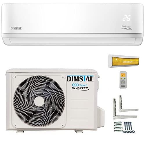 ECO Smart INVERTER WiFi/WLAN-Ready 12000 BTU Split Klimaanlage mit Wärmepumpe Klimagerät mit Heizfunktion (3,5 kW)