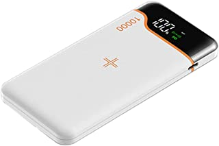 TWDYC Bärbar powerbank 20 000 mah, 22,5 w snabb trådlös laddare, Pd18 w mobiltelefon externt batteri, kompatibelt med iPho...