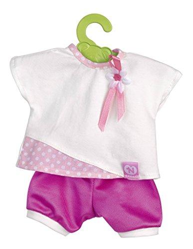 Nenuco - Ropita con percha 35 cm, camisa blanca y pantalón