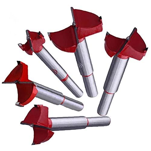 Professional Forstner Hoodworking Orificio Saw Cutter Aley Hole Aperters 16/20/25/30 / 35mm Brocas De Taladro Taladro Plano
