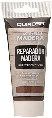 Quiadsa 52502236 Plaste+Plus Emplaste Masilla para Madera Sapelli