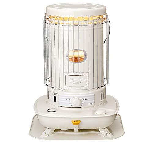 コロナ 石油ストーブ(木造17畳/コンクリート23畳)【暖房器具】CORONA ホワイト SL-6618-W