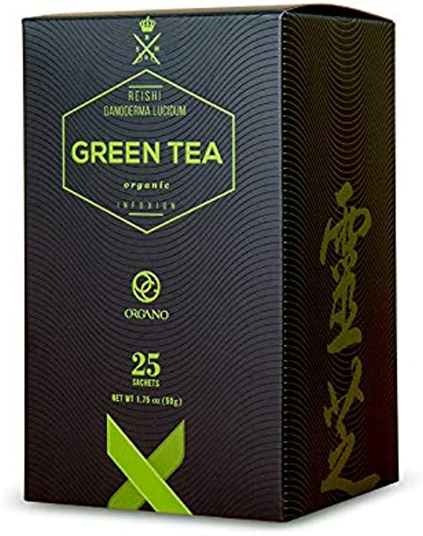 Organo Gold Pemium The Vert Green Tea Made With With Organic Ganoderma Lucidum U S A Packaging 1 Box