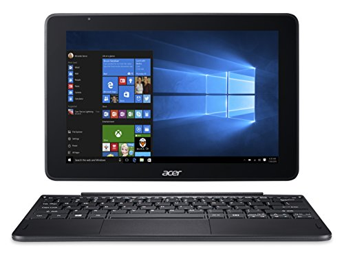 Acer One 10 S1003 Detachable Notebook - (Intel Atom x5-Z8350, 2GB RAM, 32GB eMMC, 10.1' Multi-touch WXGA Display, Iron)