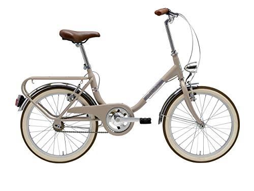 Cicli Adriatica Bicicletta Funny 20 Pollici Freni V sul Manubrio Nocciola