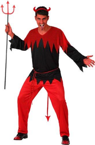 Atosa - 14836 - Costume - Déguisement De Diable - Adulte - T-2