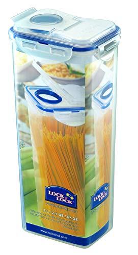LOCK & LOCK HPL 819F Spaghetti-Box mit Schütte, 2 Liter