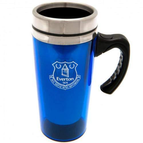 Everton FC Football Aluminium Travel Journey Mugs with Handle