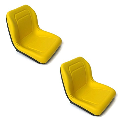 A&I Products (2) HIGH Back Seats for John Deere Gator XUV 620i, 850D, 550, 550 S4 UTV Utility by The ROP Shop