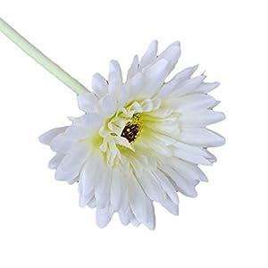 LUFA 2pcs Artificial Flowers Decoraciones para el hogar Fake African Daisy con 7 Capas