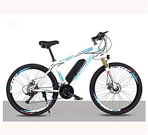 Elettrica bici elettrica Mountain Bike Bici da montagna elettrica for adulti, bicicletta elettrica da 26 pollici biciclette con batteria rimovibile 36V 8AH / 10 Ah batteria agli ioni di litio, 21/27 c