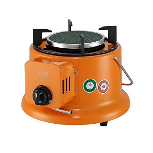 LiRuiPengBJ Patio Heaters Portable Outdoor Gas Heater, Mini Table Top Heater with Protective Mesh Cover for Outdoor, Patio, Ice Fishing Cooking Outdoor Heater