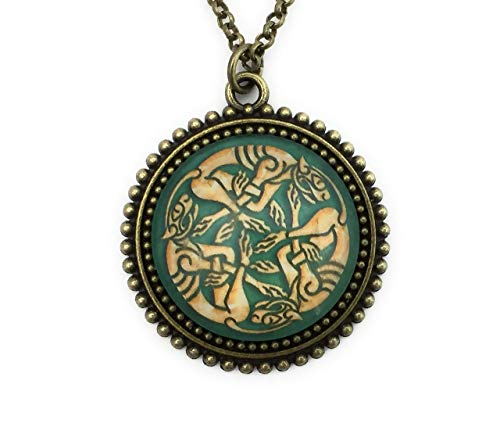 Celtic Animal Necklace for Women - Celtic Knot - Handmade