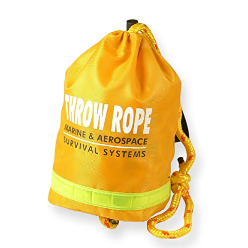 Goglobe Rescue Throw Bag with 60 Feet Floating Rope for Boating Kayaking Ice Fishing Safety