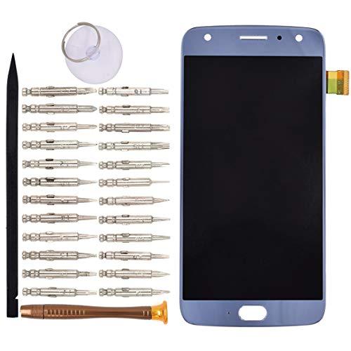 VEKIR Blau XT1900-2 LCD-Display Touchscreen Digitizer Ersatz für Motorola Moto X4 XT1900-2 XT1900-4 XT1900-5 XT1900-6 XT1900-7