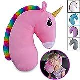 Best Car Pillow For Kids - Travel Pets Unicorn Seat Belt Pillow (Pink) Review