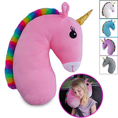 Travel Pets Unicorn Seat Belt Pillow (Pink)