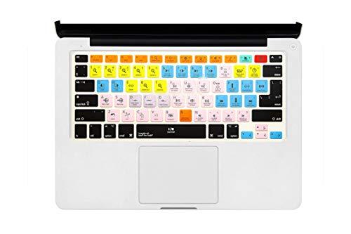 Slim A Logic Pro X Avid Pro Tools Sneltoets Toetsenbord Cover Huid Voor Macbook Pro Air 13 15 17 Voor 2016 Eén maat Avid Pro Gereedschap