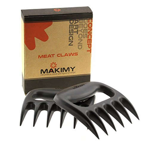 Makimy Pulled Pork Shredder Fleischkrallen – beste Fleischgabeln