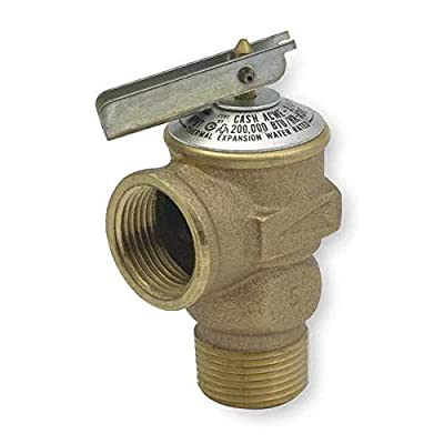 Safety Relief Valve, 3/4In, 150 psi, Bronze by CASH ACME