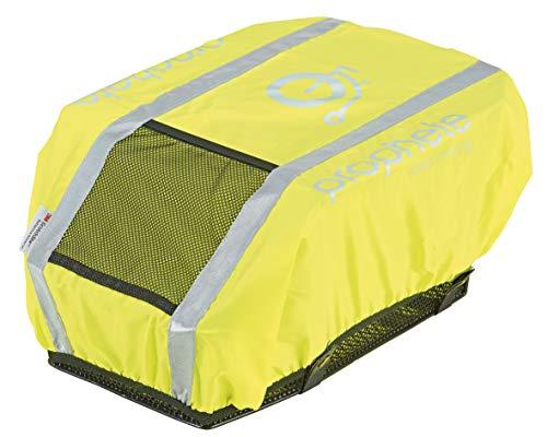 Prophete Reflexüberzug für Fahrradkörbe, Schulranzen oder Rucksäcke, gelb, one Size