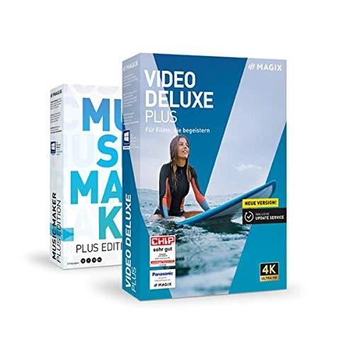 Preisvergleich Produktbild MAGIX Bundle: Video deluxe Plus 2020 + Music Maker Plus 2020