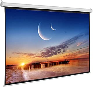 Electric Motorized Projector Screen,Home Theater 8K/4K Ultra HD Ready Projection, ELECTRIC100H,WITHOUT Remote Control,244 ...