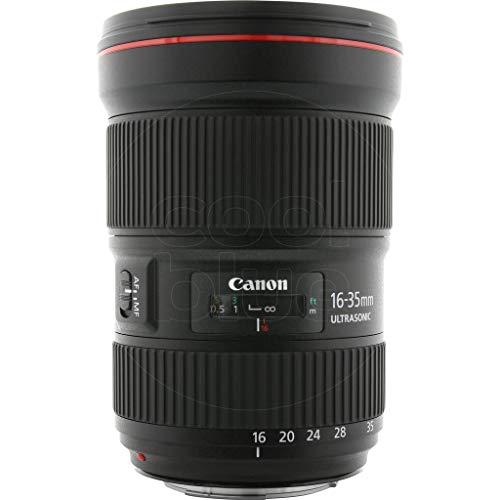 Canon Objektiv EF 16-35mm F2.8L III USM Ultraweitwinkel für EOS (82mm Filtergewinde) schwarz