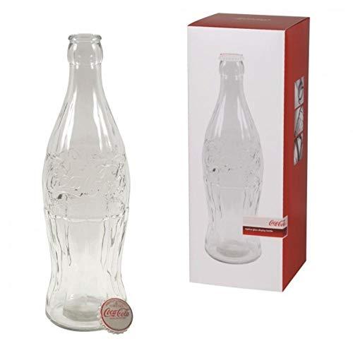 trendaffe Coca-Cola XXXL Spardose aus Glas - ca. 51 cm hoch - Coke Sparbüchse Sparschwein