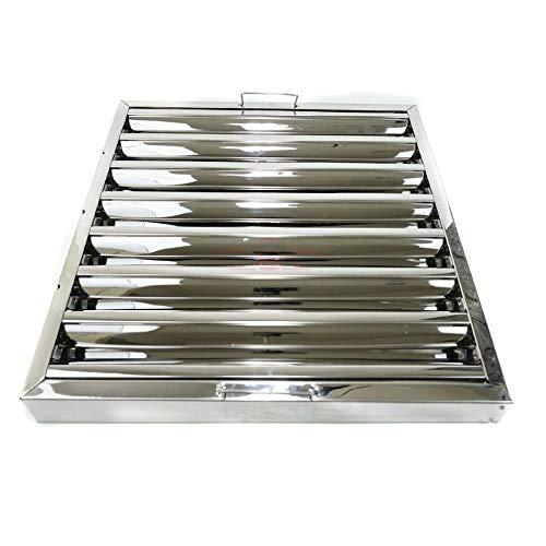 Filtro lamas acero inox campana extractora bar industrial 49 x 49 x...