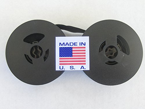 """Package of Two"" Royal Contessa, Diana, Meteor, Parade, Portable Diana, Sahara, Signet and Standard 550 Typewriter Ribbon, Compatible, Black, Twin Spool"