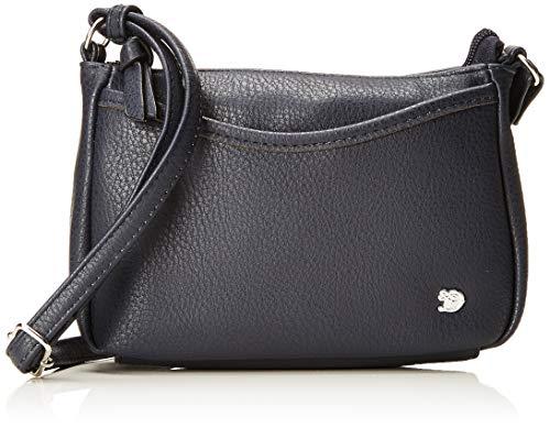 TOM TAILOR Umhängetasche Damen Cilia, Blau (Blau), 4x14x21.5 cm, TOM TAILOR Handtaschen, Taschen für Damen