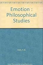 Emotion: Philosophical Studies