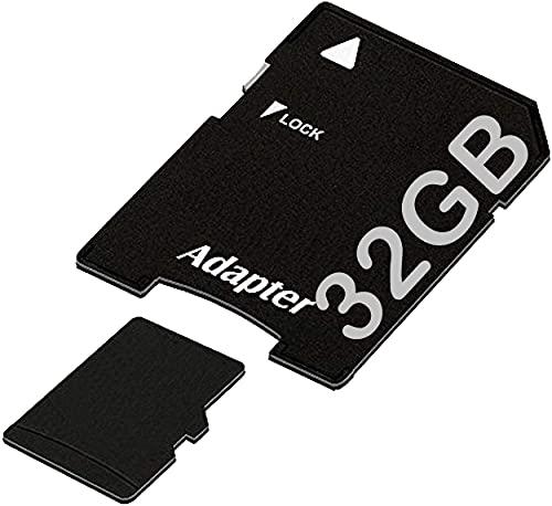 tomaxx 32GB / 32 GB Micro SDHC Speicherkarte Kompatibel für Archos 50 und 45 Helium 4G, ZTE Grand S Flex, Archos 53 Titanium Class 10 inkl. SD Card Adapter
