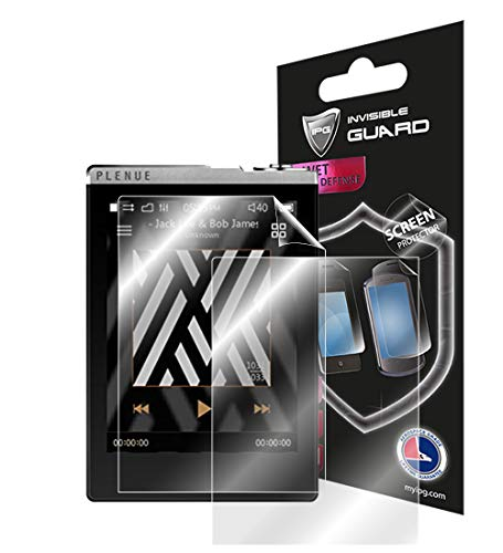 for COWON PLENUE D Music Player Screen Protector (2X) Protector with Lifetime Replacement Warranty Invisible Protective Screen Guard Skin- Smooth/Bubble -Free