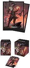 BUNDLE: Magic: the Gathering - Core 2019 - Sarkhan, Fireblood (100+ Deck Box & 80 Protector Sleeves)