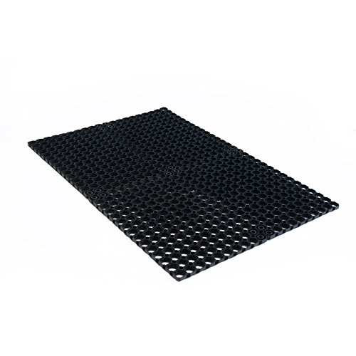Ergonomic Technology Ringgummimatte - robuste Gummimatte mit Waben für außen und innen - 5 Größen wählbar - 100x150cm