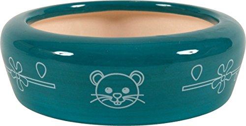Zolux - Comedero para roedores (cerámica, 350 ml), Color