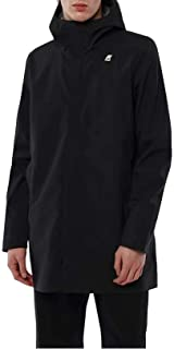 K-Way Uomo Parka Tommy Bonded Jersey K00BQC0 USY Black Pure