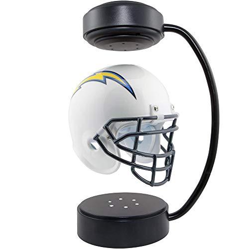 Casco Suspendido con Luz Nocturna LED, Casco De Suspensión Magnética LED Luz De Noche Soporte De Exhibición Interior Creativo 360 ° Rotación Adecuada para Cumpleaños
