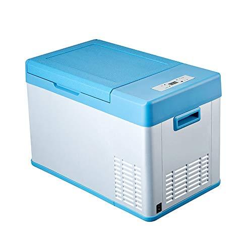 Car refrigerator Auto Kühlschrank tragbare Mini-Kühlschrank blau 23L große Kapazität eintürigen Kompressor Schlafsaal Kühlschrank Auto nach Hause Dual-Purpose-Gefrierschrank