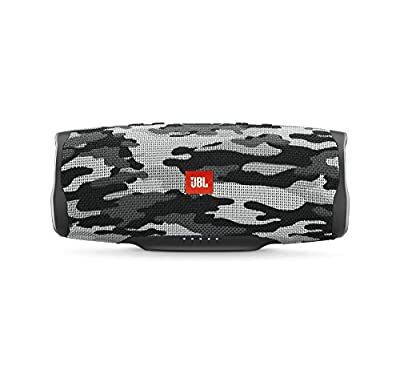 JBL Charge 4 Portable Waterproof Wireless Bluetooth Speaker - Black Camo