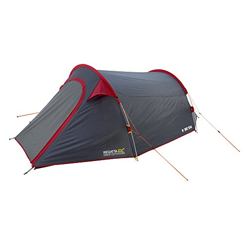 Regatta Great Outdoors Halin 3 Man Tent (One Size) (Seal Grey/Pepper)