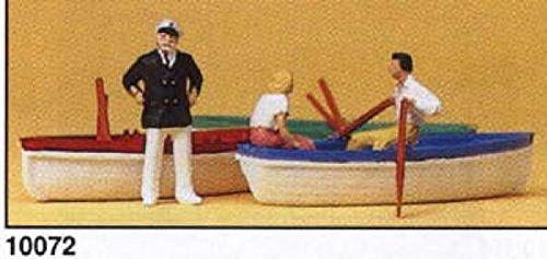 Preiser 1/87 th – pr10072 – modelspoorbanen – verhuur van boten