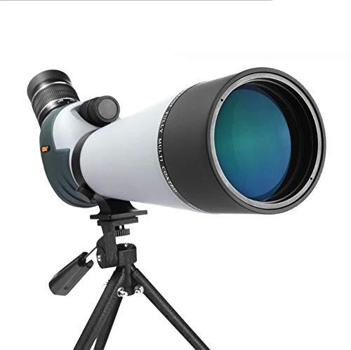 Scra AC Catalejos Observación De Aves Noche Espejo Exterior Alta Potencia HD De Luz Baja Visión Monocular Zoom 20-60x80 Llena De Nitrógeno Impermeable Telescopio